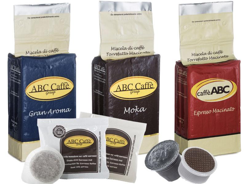 Cialde e capsule caffè ABC
